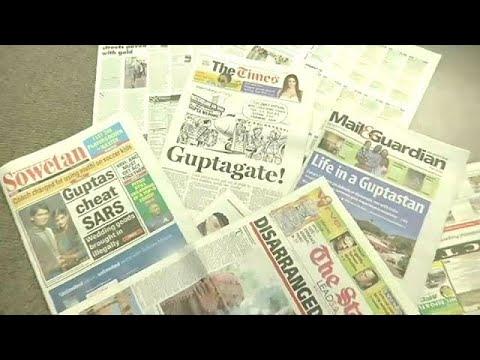 Korruptionsskandal in Südafrika: Polizei durchsucht A ...