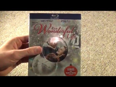 It's A Wonderful Life Blu-Ray Unboxing