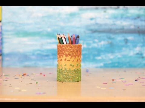 Decoration Ideas for Independence Day - Pen Stand