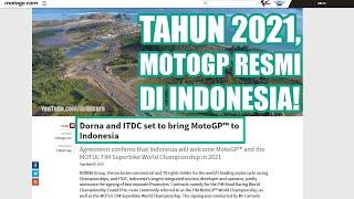 Video SAH! Jokowi Sudah Tandatangani Pembangunan Sirkuit MotoGP di Lombok, Indah dan keren banget! MP3, 3GP, MP4, WEBM, AVI, FLV November 2017