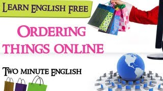 Ordering things online, English Conversation Lesson