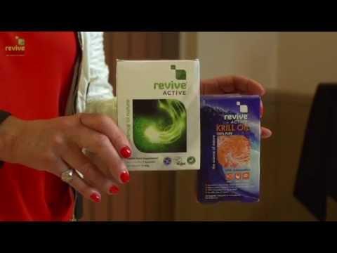 Vicki Edgson and Revive Active Health Supplements (видео)