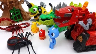 Video Go Go Dinotrux! Protect Dinosaur Park from Monster Bugs MP3, 3GP, MP4, WEBM, AVI, FLV Juli 2018