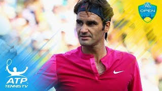"""When the """"SABR"""" (sneak attack by Roger) was born in Cincinnati 2015...Watch official ATP tennis streams all year round:..."""