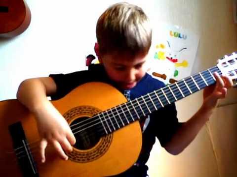 Pièce pour enfants débutants / Guitare classique / Étude, D. Aguado