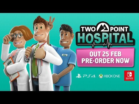 Two Point Hospital : Two Point Hospital Console – The Developers Play - PEGI