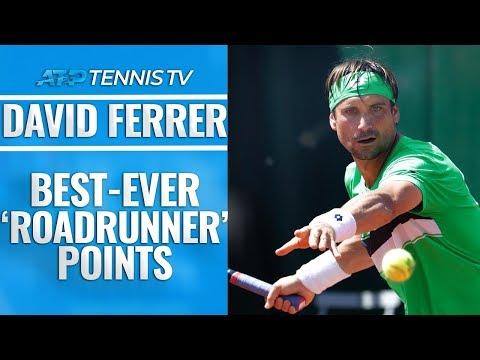 """David Ferrer: Best-Ever """"Roadrunner"""" Points!"""