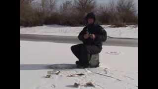 Зимняя рыбалка, Астрахань, Алимовский плёс,январь 2014