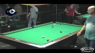 9-Ball Action - Daniel Busch Vs Adolf Arroyo - Jan 2014