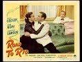 Road to Rio, Bob Hope, Bing Crosby, Dorothy Lamour, 1947 Full Movie