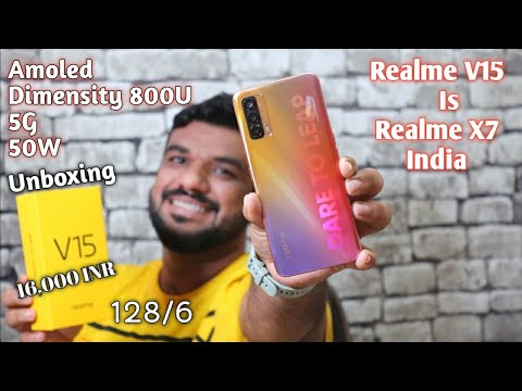 Hindi | Realme V15 Unboxing. This Is Realme X7 India's