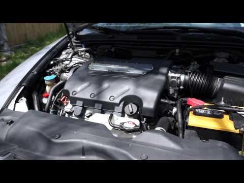 00001 Starting 2004 Acura TL after timing belt job…