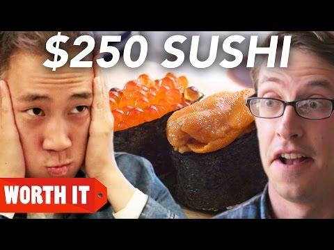 3 Sushi Vs 250 Sushi