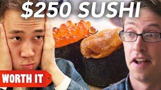 Video $3 Sushi Vs. $250 Sushi MP3, 3GP, MP4, WEBM, AVI, FLV Agustus 2018