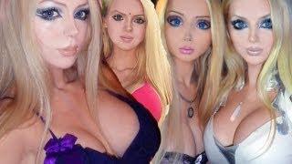 Real life Barbie Valeria Lukyanova's twin: Olga Oleynik