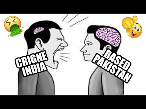 Cringe India vs Based Pakistan