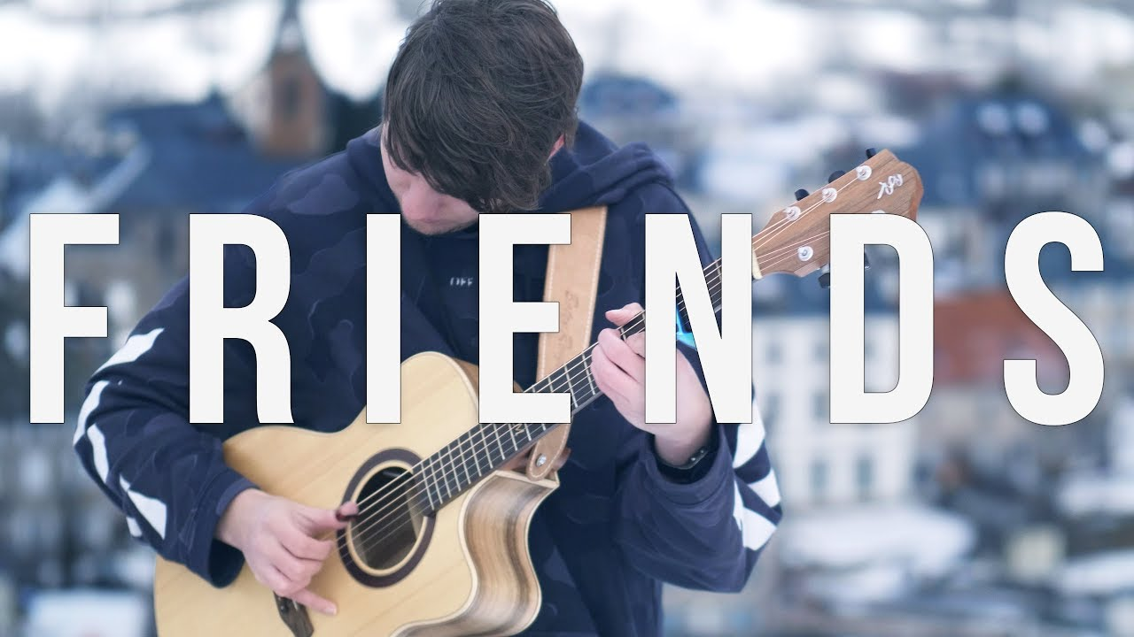 Marshmello & Anne-Marie – FRIENDS – Fingerstyle Guitar Cover *OFFICIAL FRIENDZONE ANTHEM*