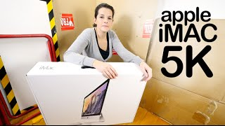 Apple iMac Retina 5K unboxing review en español