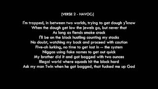 "Mobb Deep - ""Survival of the Fittest"" Lyrics [HD Best Quality]"