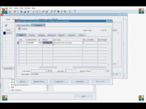 Order to Cash(O2C) flow in Oracle Applications