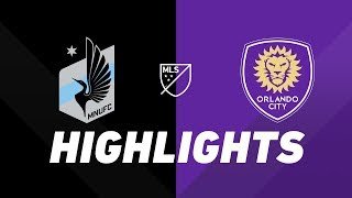 Minnesota United FC vs. Orlando City SC | HIGHLIGHTS - August 17, 2019 by Major League Soccer