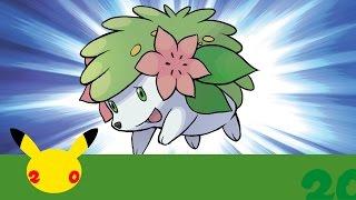 UK: Celebrate #Pokemon20 with the Mythical Pokémon Shaymin! by The Official Pokémon Channel