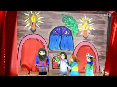 Аленький цветочек - домашний кукольный театр