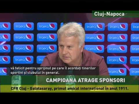 Campioana CFR Cluj atrage sponsori