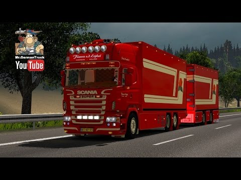Scania R620 Fleurs 1.26.2.2s