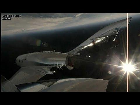 Virgin Galactic: Erster Raketentest nach Tragödie von ...