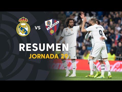 Resumen de Real Madrid vs SD Huesca (3-2)