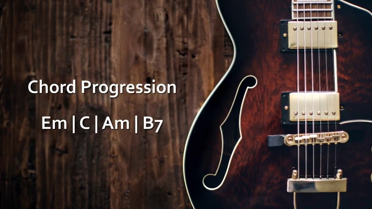 E Minor Sad Ballad Guitar Backing Track For Improvisation With Scales