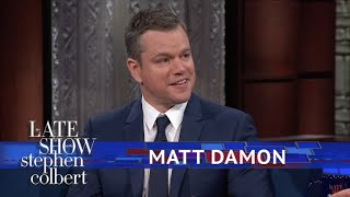 Video Matt Damon Explains Why 'Good Will Hunting' Has So Much Cursing MP3, 3GP, MP4, WEBM, AVI, FLV September 2018