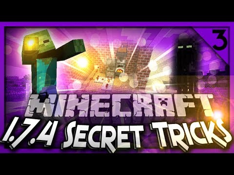 MineCraft 1.7.4 Tricks, Secrets & Contraptions! Episode #3
