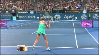 Tennis Highlights, Video - [HD]K. Pliskova (CZE) vs P. Kvitova (CZE) – Womens Final Highlights 2015 Apia Sydney International