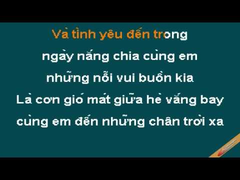 May Dieu Hoa Mua He Karaoke – Wanbi Tuấn Anh – CaoCuongPro