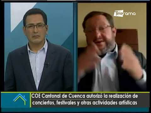 COE cantonal de Cuenca autorizó la realización de conciertos, festivales y otras actividades artísticas