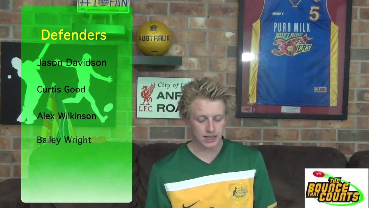"""Socceroos World Cup Squad Announcement 
