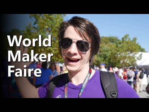 Maker's Muse at World Maker Faire 2017 NYC (видео)