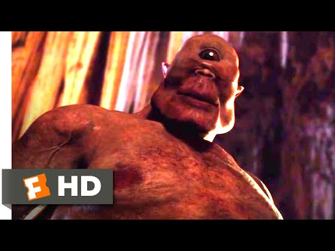 Troy: The Odyssey (2017) - Fighting The Cyclops Scene (7/10) | Movieclips