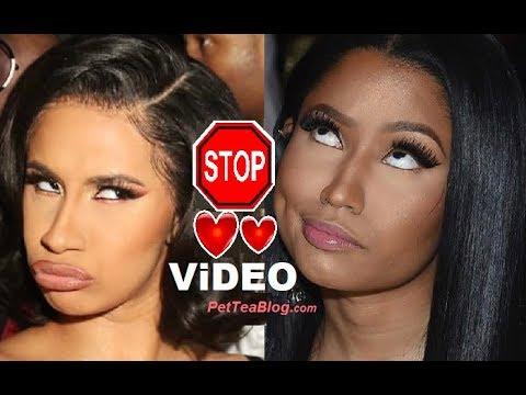 Nicki Minaj Cardi B Beef has to END! Dragging Babies & Leaking Numbers is too far.. 🛑