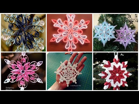 Download Christmas Snowflake In Quilling Technique Video 3gp Mp4 Flv