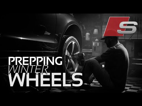 Prepping the Audi SQ5's Spring/Fall Wheels for Winter Storage