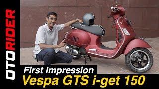 2. Vespa GTS i-get 150 2017 Indonesia | OtoRider