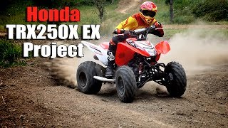 4. Honda TRX250X 250EX Upgrade Project for the Trail