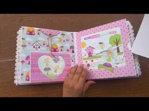 Scrapbook album Perfect princess echo park