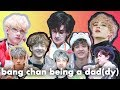 bang chan being a dad(dy)