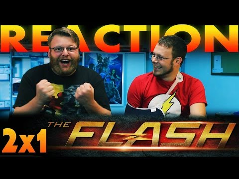 "The Flash Season 2 Premiere REACTION!! ""The Man Who Saved Central City"""
