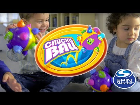 Spin Master   Chuckle Ball - Look At All the Fun!