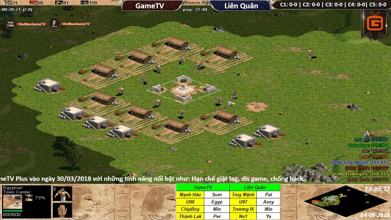 4vs4 Random | GameTV vs Liên Quân | Ngày 04-08-2018. BLV: Hải MariO